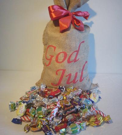 God Jul Säckar 3.5 kg julgodis till personalen