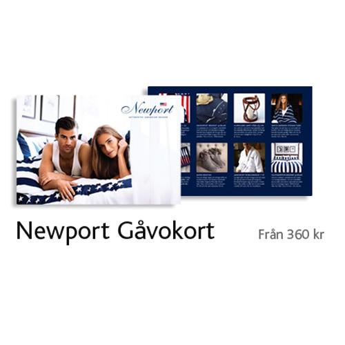 Newport Gåvokort Stilfulla Julklappar