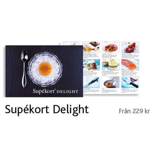 Presentkortet Supékort Delight