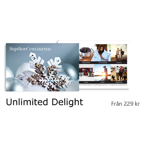 Presentkort – Unlimited Delight